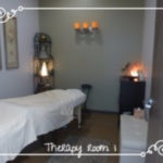 Therapy Room 1 – is perfect for massage therapist, natural healers and energy workers.